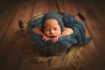 Rustic Fabric-Newborn Photography Props