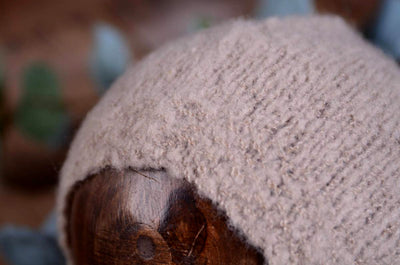 Mohair Bonnet - Smooth - Beige