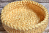 Knitted Thick Yarn Basket - Beige