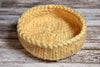 Knitted Thick Yarn Basket - Beige-Newborn Photography Props