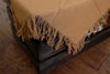 Linen Blanket - Brown