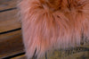 Faux Fur - Salmon