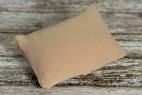 Mini Pillow with Cover - Textured - Khaki