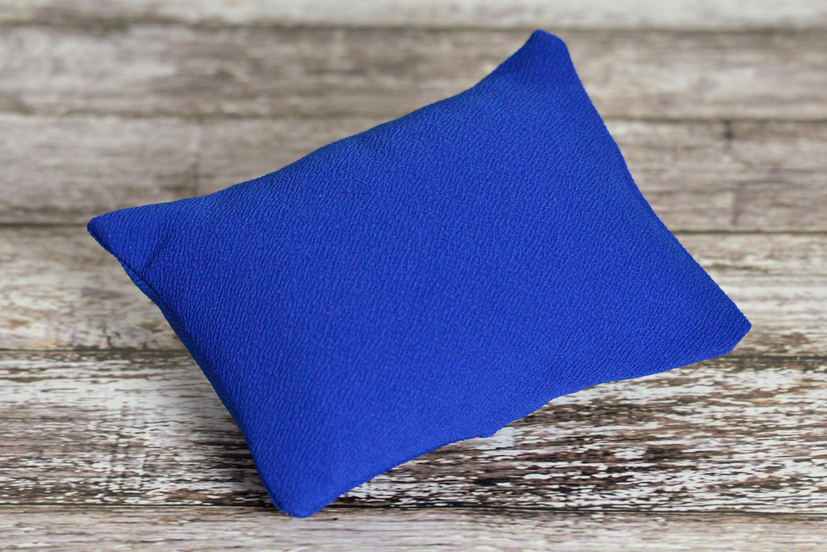 Mini Pillow with Cover - Textured - New Navy-Newborn Photography Props