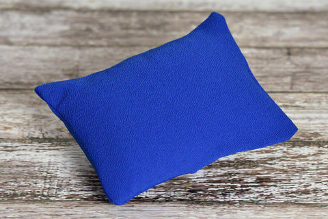 Mini Pillow with Cover - Textured - New Navy