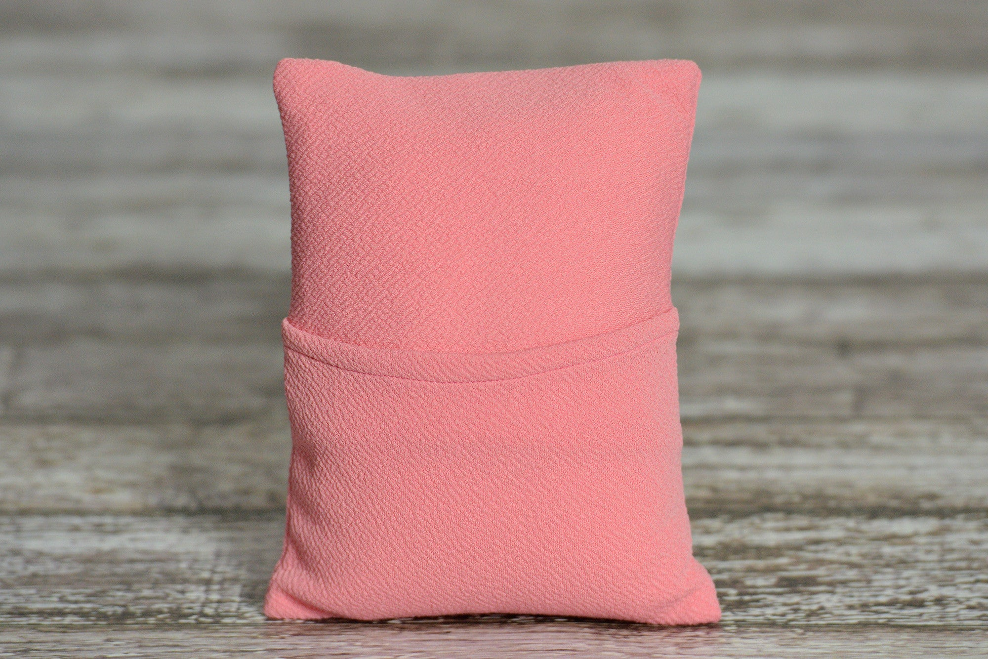 Mini Pillow with Cover - Textured - Rose-Newborn Photography Props
