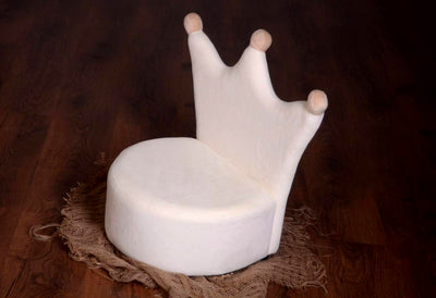 Newborn Crown Sofa Photography Prop Mini Couch For Babies