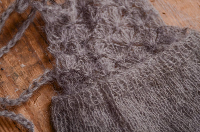 Mohair Overall - Gray