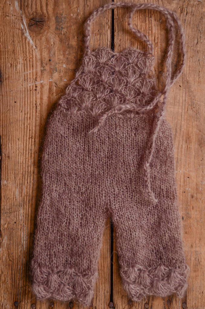 Mohair Overall - Nut
