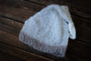 Mohair Sleeping Hat - Milk White