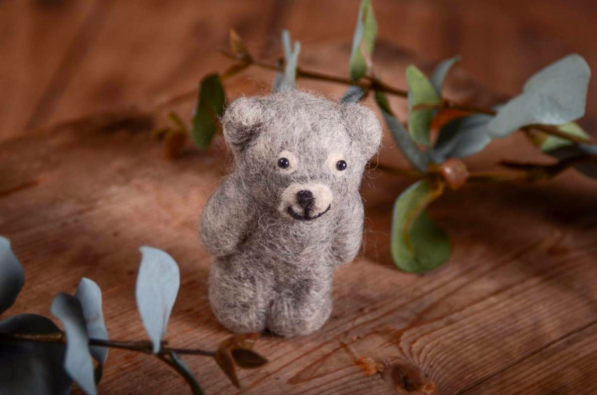 Little Teddy Bear - Gray-Newborn Photography Props