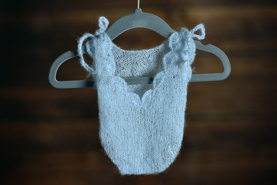 Mohair Bodysuit - Cloud