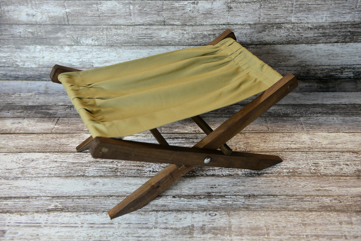 Interchangeable Canvas Fabric for Rustic Deck Chair (Fabric Only)-Newborn Photography Props