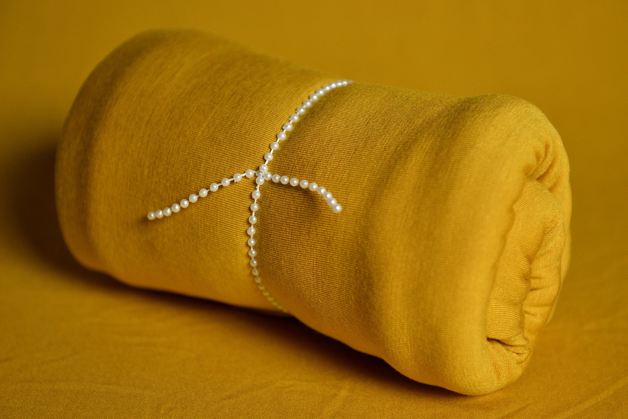 Bean Bag Fabric - Smooth - Mustard-Newborn Photography Props
