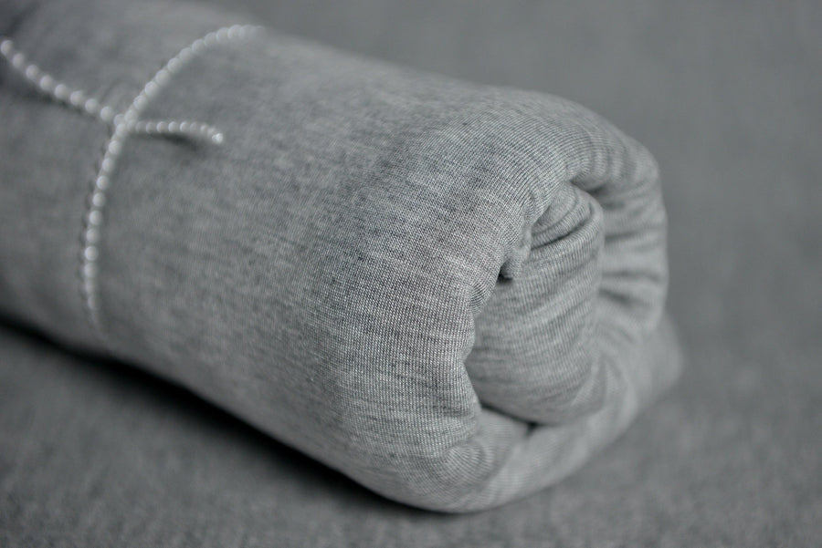 Baby Wrap - Smooth - Light Gray-Newborn Photography Props