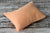 Mini Pillow with Cover - Textured - Peach-Newborn Photography Props