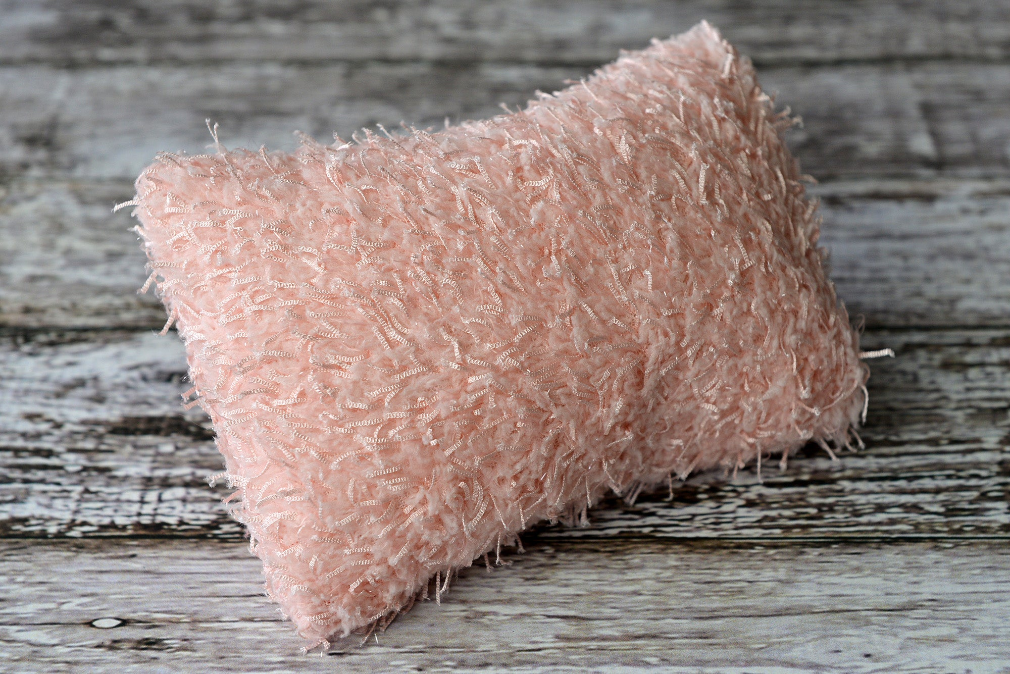 Mini Pillow with Cover - Threads - Pink-Newborn Photography Props