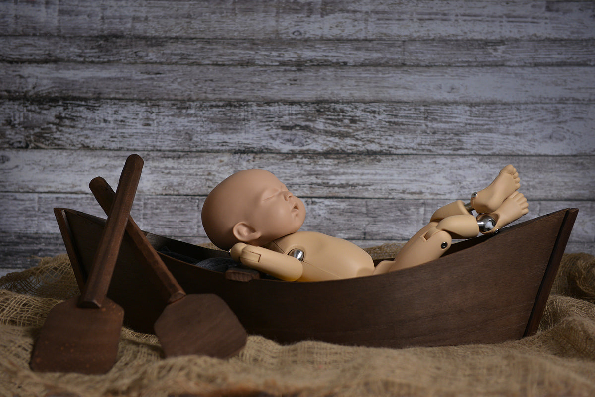 Rustic Rowboat - Model 2-Newborn Photography Props