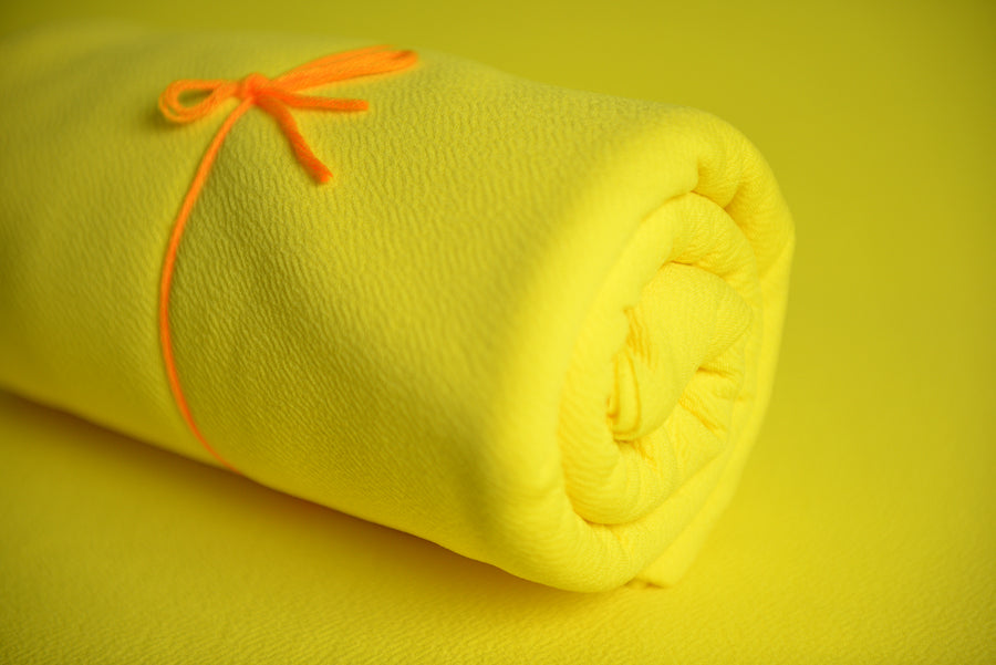 Baby Wrap - Textured - Yellow