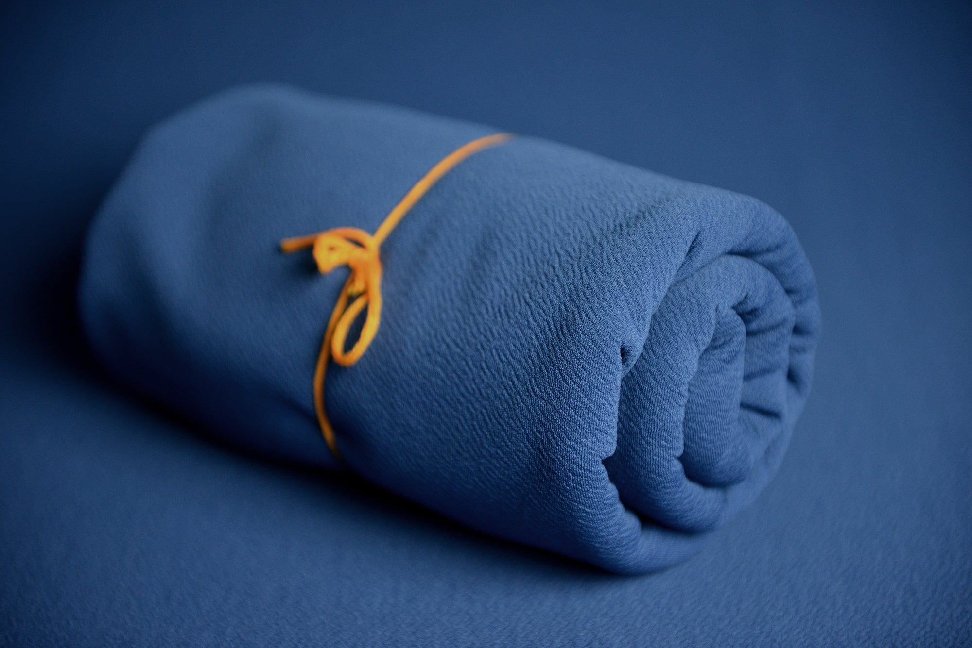 Bean Bag Fabric - Textured - Denim-Newborn Photography Props