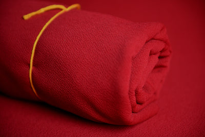 Bean Bag Fabric - Textured - Red-Newborn Photography Props