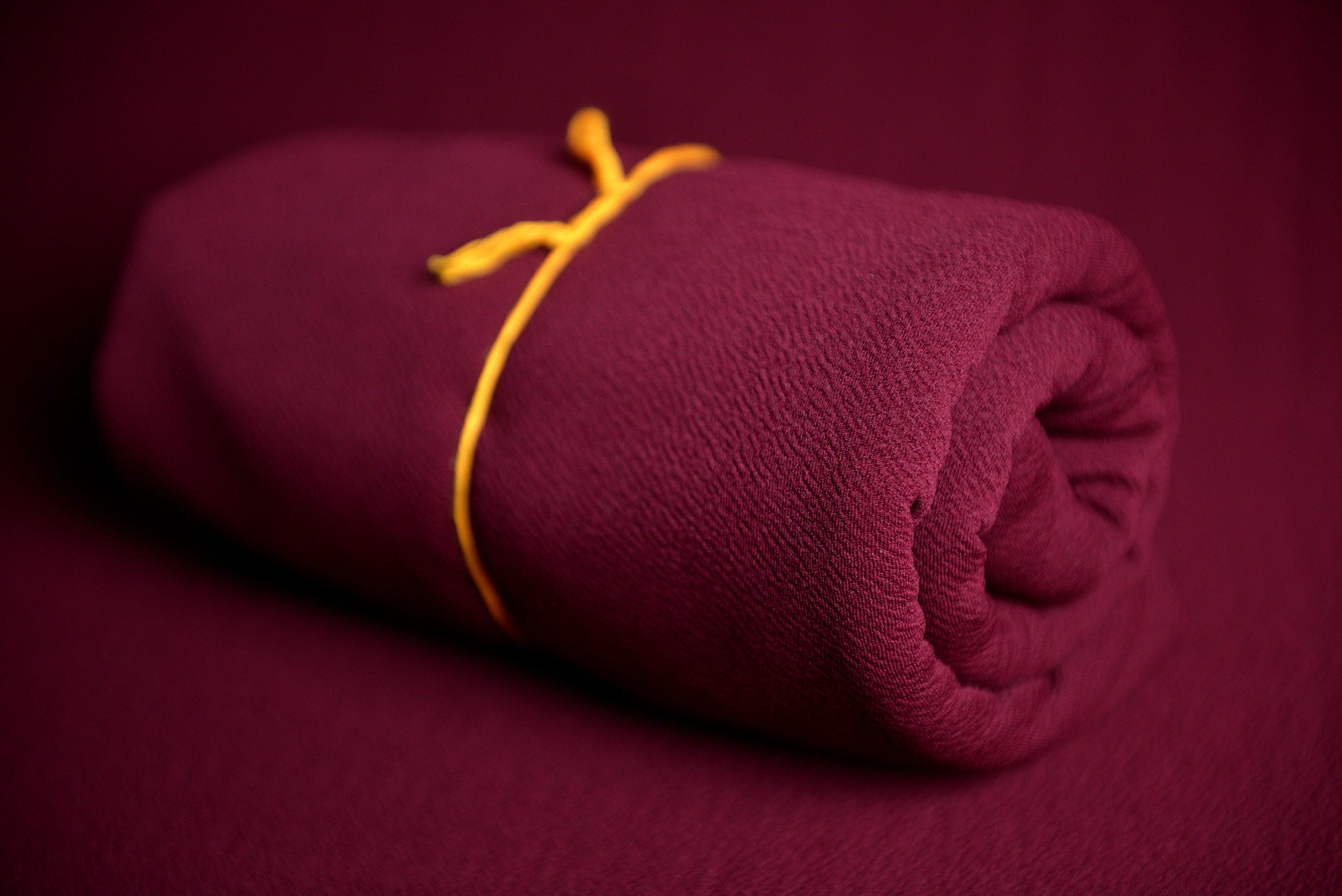 Bean Bag Fabric - Textured - Burgundy-Newborn Photography Props