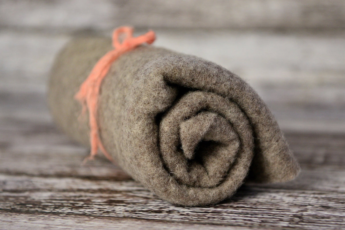 Wool Wrap - Oatmeal-Newborn Photography Props