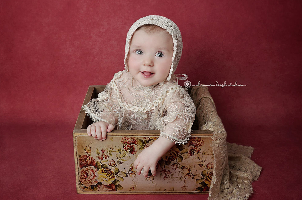 Rustic Drawer Newborn Photography Prop