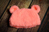 Teddy Bear Hat - Salmon