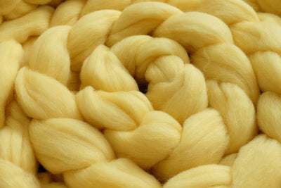 Wool Braid - Light Yellow-Newborn Photography Props
