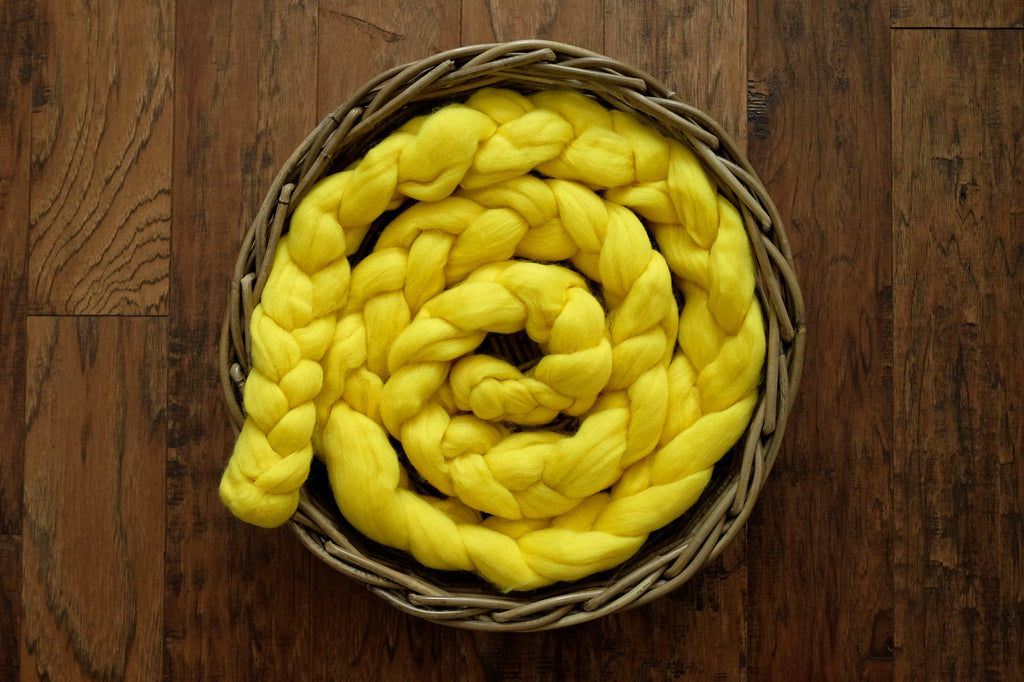 Wool Braid - Yellow