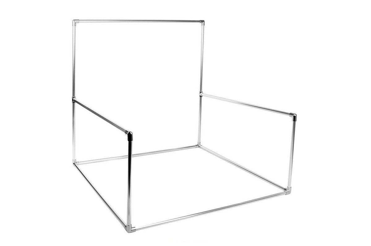 Aluminum Backdrop Stand AND Posing Bean Bag 48in.