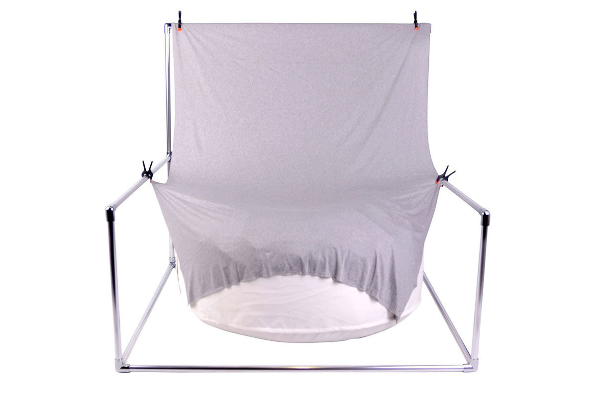 PRE-ORDER Fixed Square Backdrop Stand AND Posing Bean Bag 41in.