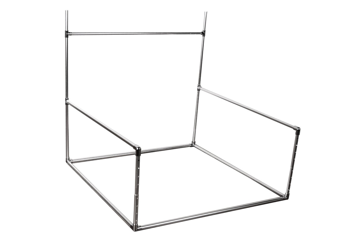 Aluminum Backdrop Stand ADJUSTABLE AND Posing Bean Bag 48in.