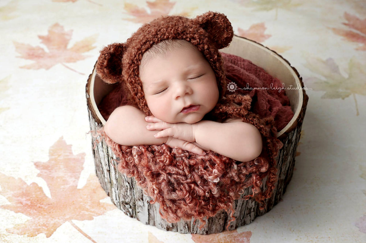 Bark Bucket - 14in-Newborn Photography Props