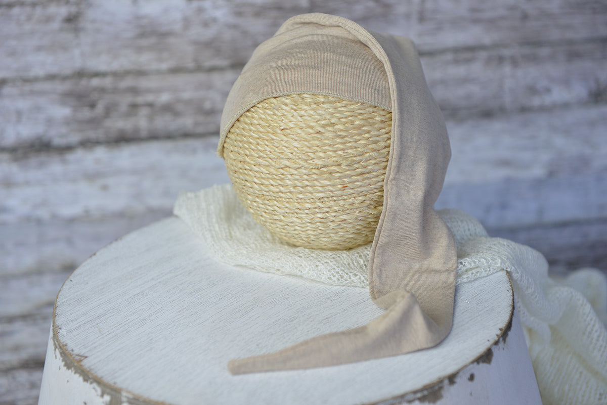 SET Basic Boy - Beige-Newborn Photography Props