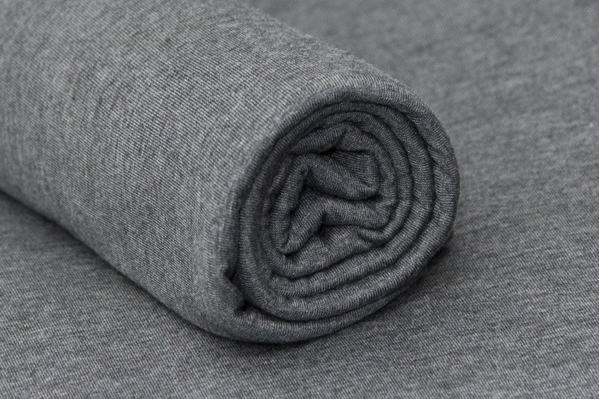 Bean Bag Fabric - Smooth - Twotone Charcoal-Newborn Photography Props