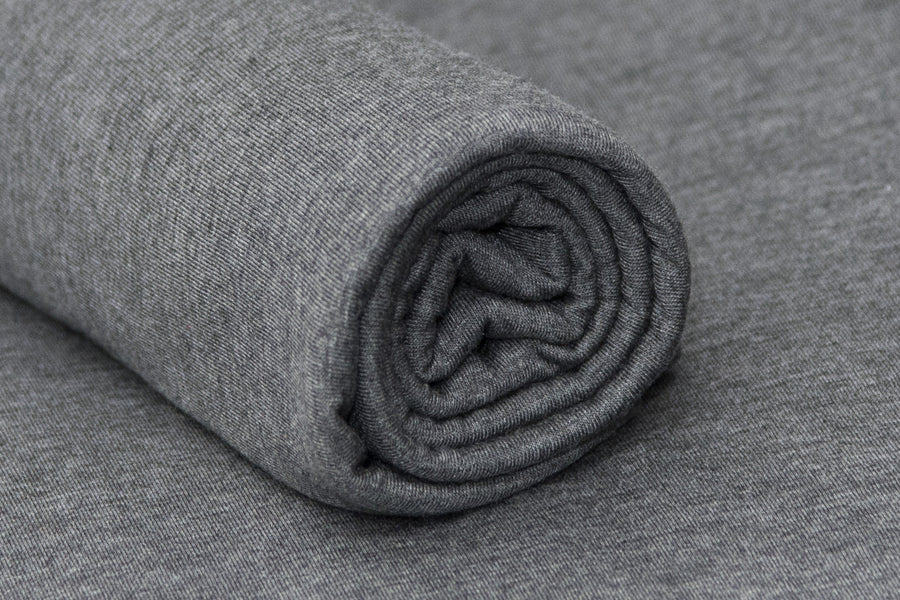 Bean Bag Fabric - Smooth - Twotone Charcoal