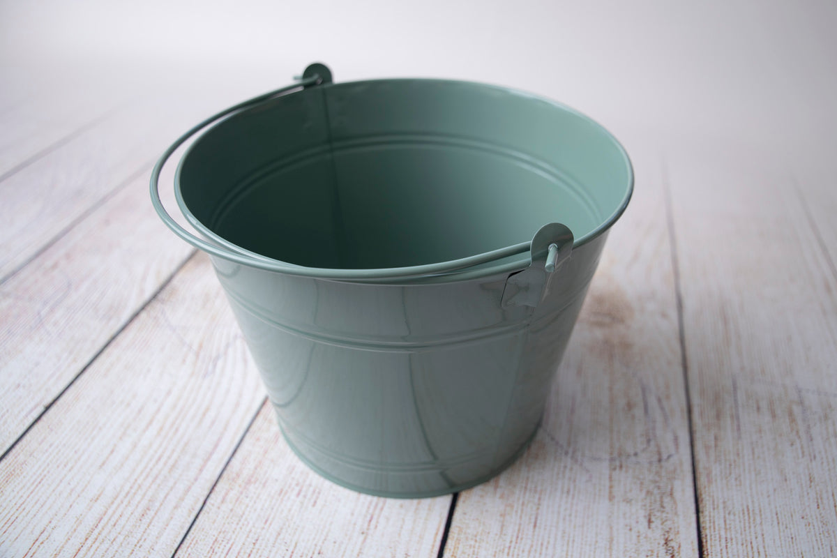 Vintage Bucket - Light Green