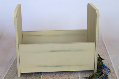 Vintage Crib - Straight - Cream