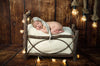 Rustic Crib - Twig Style Headboard and Railing