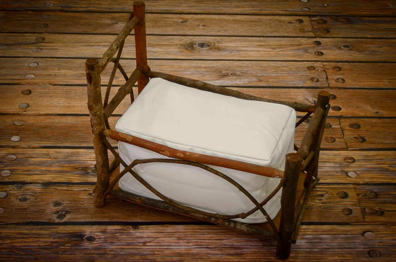 Rustic Crib - Twig Style Headboard and Railing-Newborn Photography Props