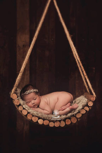 Rustic Swing photography prop