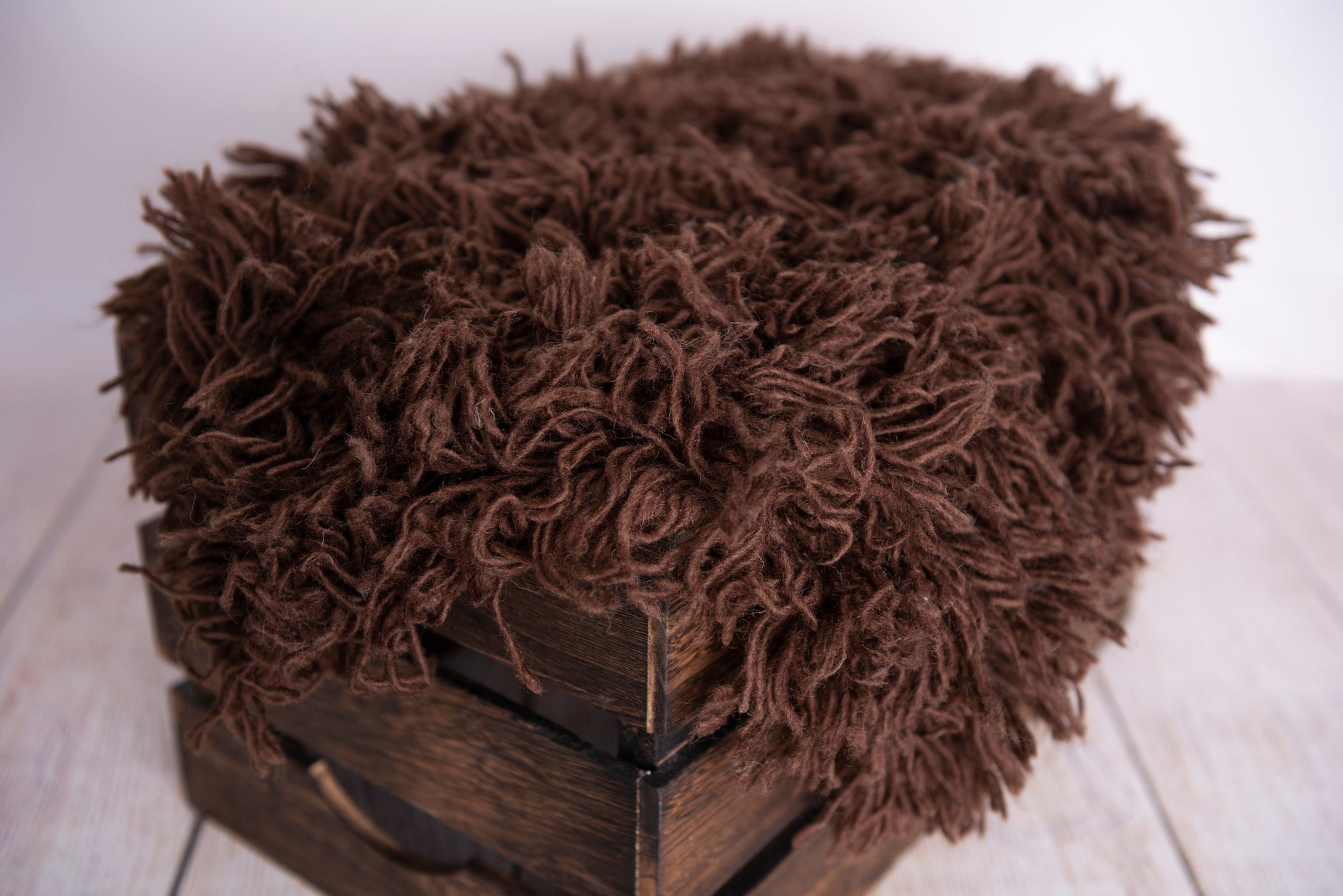 Flokati Rug - Chocolate - Large