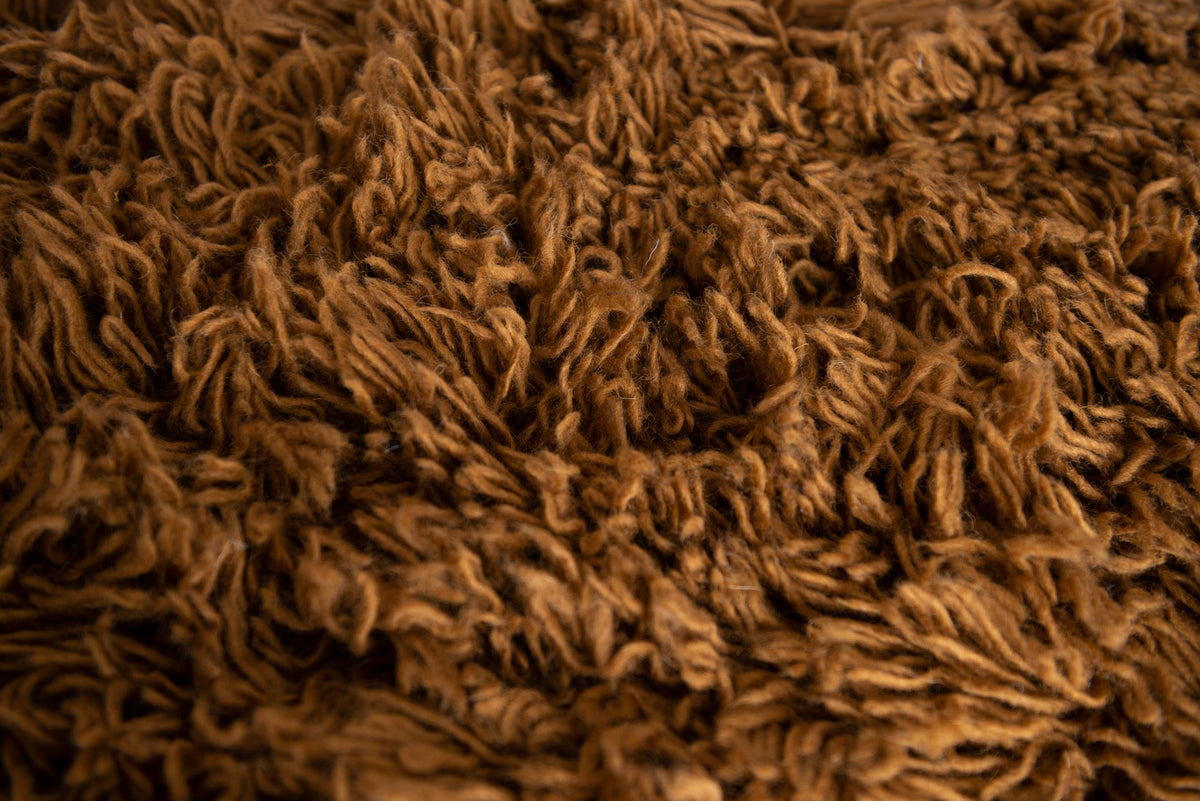 Flokati Rug - Toffee - Small
