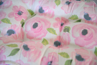 Mattress Set - Flannel Hazel Watercolor