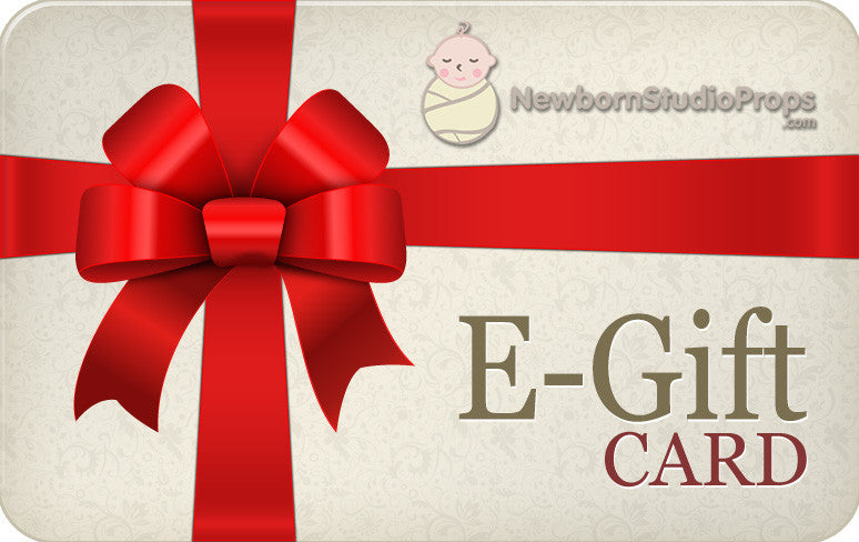 E-Gift Card-Newborn Photography Props