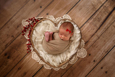 PRE-ORDER Vintage Heart Bowl - Brown