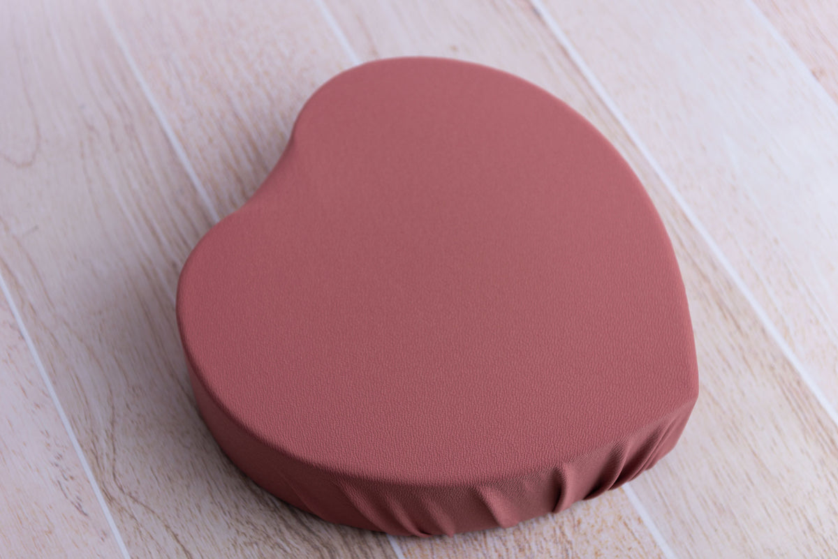 Toggle Tie Cover for Vintage Heart Bowl - Textured - Mauve