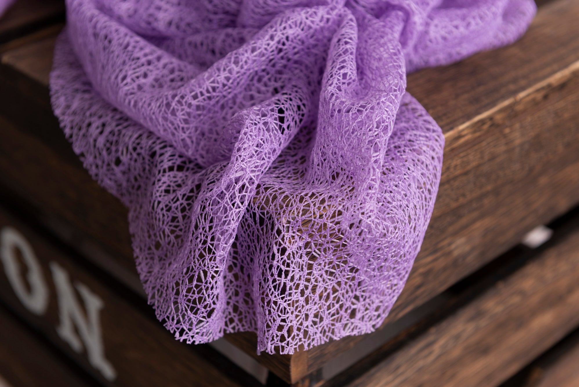 Mesh Lace Baby Wrap - Lilac